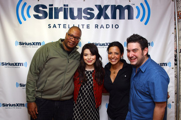 Nicole Biggins Celebrities Visit SiriusXM