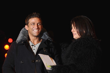 Davina McCall Alex Reid Celebrity Big Brother - Celebrities Enter The House