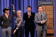 Jimmy Fallon and Bradley Cooper Photos Photo