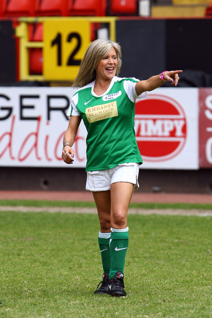 Celebrity Soccer Six Stock Photos and Pictures | Getty Images