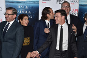 """(L-R) Actors  Steve Carell and Marisa Tomei, producer Jeremy Kleiner, actor Finn Wittrock, director Adam McKay and composer Nicholas Britell attend the closing night gala premiere of Paramount Pictures' """"The Big Short"""" during AFI FEST 2015 at TCL Chinese Theatre on November 12, 2015 in Hollywood, California."""