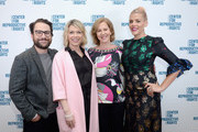 (L-R) Charlie Day, Mary Elizabeth Ellis, Nancy Northup and Busy Philipps attend The Center for Reproductive Rights Inaugural Los Angeles Benefit at The London West Hollywood on March 6, 2019 in West Hollywood, California.