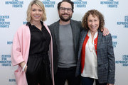 (L-R) Mary Elizabeth Ellis, Charlie Day and Rhea Perlman attend The Center for Reproductive Rights Inaugural Los Angeles Benefit at The London West Hollywood on March 6, 2019 in West Hollywood, California.