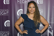 Tracie Thoms attends Center Theatre Group's 2019 Gala: A Grand Night at Ahmanson Theatre on April 22, 2019 in Los Angeles, California.