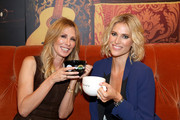 TV personalities Carole Radziwill (L) and Kristen Taekman, The Real HouseWives of New York City attend the Central Perk Pop-Up Celebrating The 20th Anniversary Of 'Friends' on September 16, 2014 in New York City.