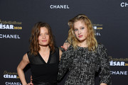 """Melanie Thierry and Nadia Tereszkiewicz attend the """"""""Cesar - Revelations 2020"""" Photocall at Petit Palais on January 13, 2020 in Paris, France."""