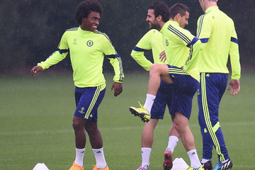 Cesc Fabregas Chelsea Training Session