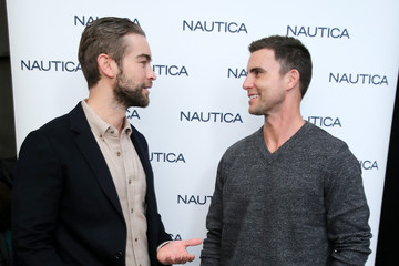 Chace Crawford Nautica - Backstage - New York Fashion Week Men's Fall/Winter 2016