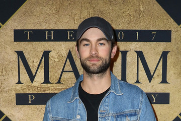 Chace Crawford Maxim Super Bowl Party - Red Carpet