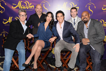 "Chad Beguelin ""Aladdin"" Broadway Cast And Creative Team Press Preview"