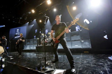 Chad Kroeger Nickelback Performs in Burbank