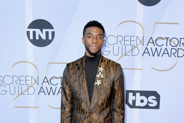 Chadwick Boseman 25th Annual Screen Actors Guild Awards - Look Book