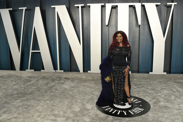 Chaka Khan 2020 Vanity Fair Oscar Party Hosted By Radhika Jones - Arrivals