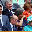 Tim Henman and Queen Elizabeth II Photos