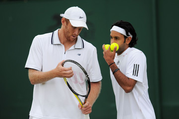 Adil Shamasdin The Championships - Wimbledon 2011: Day Four