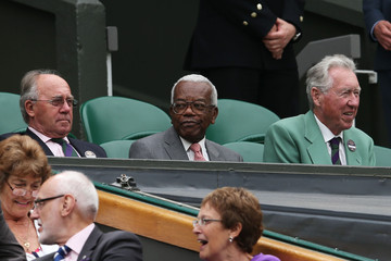 Sir Trevor McDonald The Championships - Wimbledon 2012: Day Five