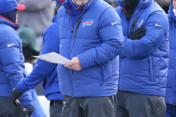 Chan Gailey  New York Jets v Buffalo Bills