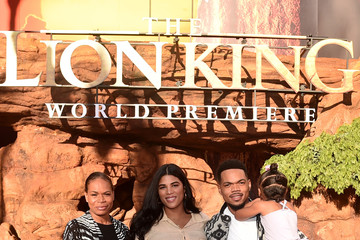 Chance the Rapper Kirsten Corley The World Premiere Of Disney's 'The Lion King'