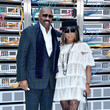 Steve Harvey and Marjorie Bridges-Woods Photos