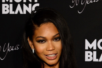 Chanel Iman Montblanc Celebrates 90 Years of the Iconic Meisterstuck