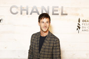 Gaspard Ulliel attends the Chanel And Madame Figaro Dinner In Honor Of The 45th Anniversary Of The Festival Of American Cinema on September 13, 2019 in Deauville, France.