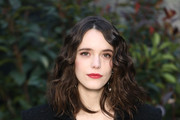 Stacy Martin attends the Chanel Haute Couture Spring Summer 2019 show as part of Paris Fashion Week  on January 22, 2019 in Paris, France.