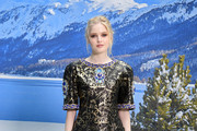 Ellie Bamber attends the Chanel show as part of the Paris Fashion Week Womenswear Fall/Winter 2019/2020  on March 05, 2019 in Paris, France.