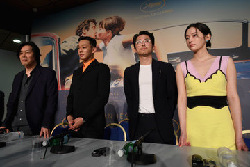 Chang-dong Lee 'Burning' Press Conference - The 71st Annual Cannes Film Festival