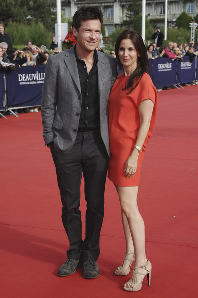 Jason Bateman and his wife Amanda arrive for 'The Change Up' Premiere  during the 37th Deauville Film Festival on September 4, 2011 in Deauville, France.