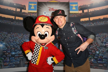 Channing Tatum Disney on Ice Presents Worlds of Enchantment Celebrity Guests (STAPLES Center Los Angeles)