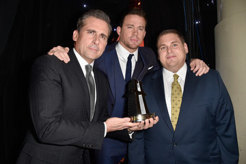 Channing Tatum Jonah Hill Backstage at the 18th Annual Hollywood Film Awards
