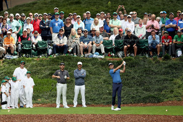 Charl Schwartzel The Masters - Preview Day 3