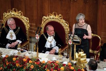 Charles Bowman New Lord Mayor Hosts the Prime Minister and Archbishop for Annual Banquet