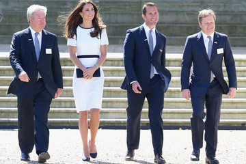Charles Dunstone Kate Middleton Visits the National Maritime Museum