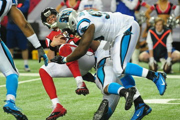 Charles Johnson Carolina Panthers v Atlanta Falcons