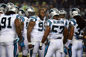 Charles Johnson Divisional Playoffs - Carolina Panthers v Seattle Seahawks
