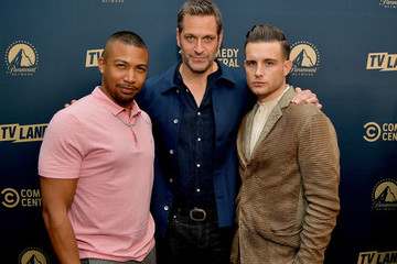 Charles Michael Davis Comedy Central, Paramount Network And TV Land Summer Press Day In L.A.