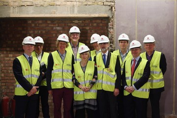 Charles Saumarez Smith Royal Academy Of Arts Celebrate The Topping Out Ceremony