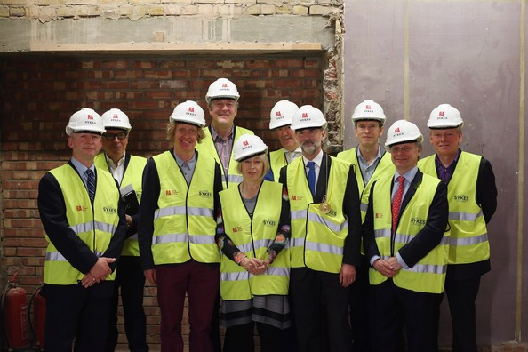 Royal Academy Of Arts Celebrate The Topping Out Ceremony