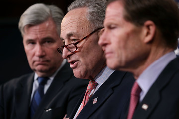 """Charles Schumer Schumer Calls On """"Dark Money"""" Group To Reveal Donors Supporting Gorsuch Nomination"""