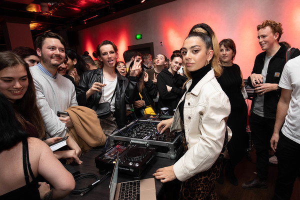 Charli XCX And Nasty Cherry Perform Live At Members' Club The Curtain