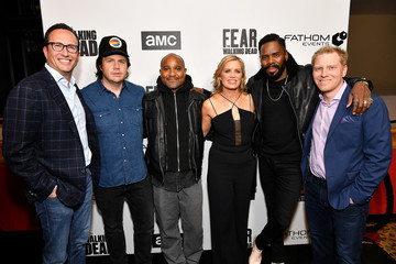 Charlie Collier AMC Survival Sunday: 'The Walking Dead' And 'Fear The Walking Dead'