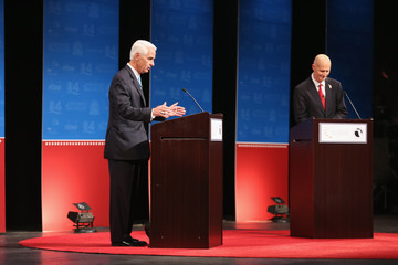 Charlie Crist Rick Scott and Charlie Crist Hold a Second Debate
