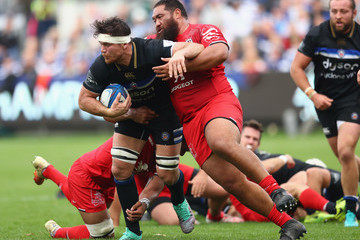 Charlie Faumuina Bath Rugby vs. Toulouse - Heineken Champions Cup
