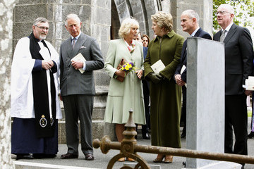 Charlie Flanagan Prince of Wales and the Duchess of Cornwall's Irish Trip Day Two