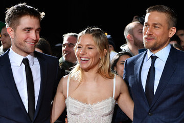 Charlie Hunnam Robert Pattinson 'The Lost City of Z' - UK Premiere - VIP Arrivals