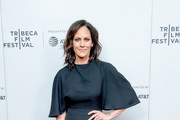 """Annabeth Gish attends a screening of """"Charlie Says"""" during the 2019 Tribeca Film Festival at Village East Cinema on May 01, 2019 in New York City."""