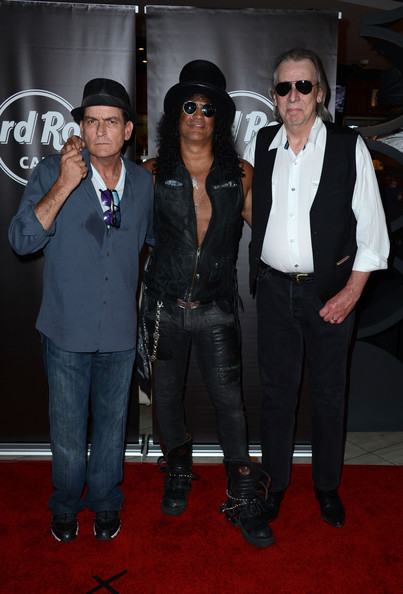 Slash Honored On The Hollywood Walk Of Fame