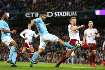 Charlie Taylor Manchester City v Burnley - The Emirates FA Cup Third Round