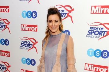 Charlie Webster Daily Mirror Pride of Sport Awards - Arrivals